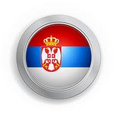 南斯拉夫标志按钮 — 图库矢量图片