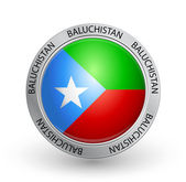 Badge - Baluchistan flag — Stock Vector