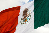 Mexican flag 3 — Stock Photo