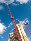 Construction cranes, Las Vegas. 2 — Stock Photo