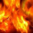 Stock Photo: Fire abstract