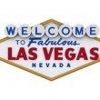 Stock Photo: Las Vegas Sign 1