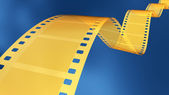 35 mm gold film — Stock Photo