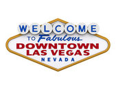 Las Vegas Downtown Sign 1 — Stock Photo