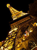 Paris Las Vegas Eiffel tower — Stock Photo