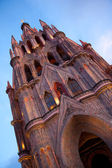 Chatedral in San Miguel — Stock Photo