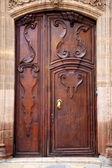 植民地時代のドア — ストック写真