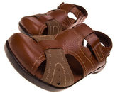 Leather Sandals 1 — Stock Photo