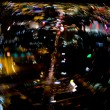 Las Vegas strip blur — Stock Photo