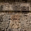 Temple of the Feathered Serpent detail — Stock Photo