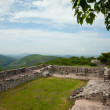 Xochicalco Ruins plaza — Stock Photo #6228304