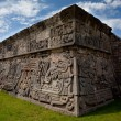 Stock Photo: Close shot of Temple of Feathered Serpent