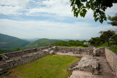 Xochicalco Ruins plaza — Stock Photo
