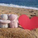 Постер, плакат: Teddy bears romance