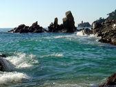Mediterranean waters — Stock Photo