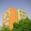 Stock Photo: Insulated block of flats
