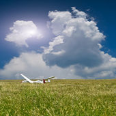 Two gliders — Stock Photo
