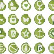 Set of icons. — Stock Vector