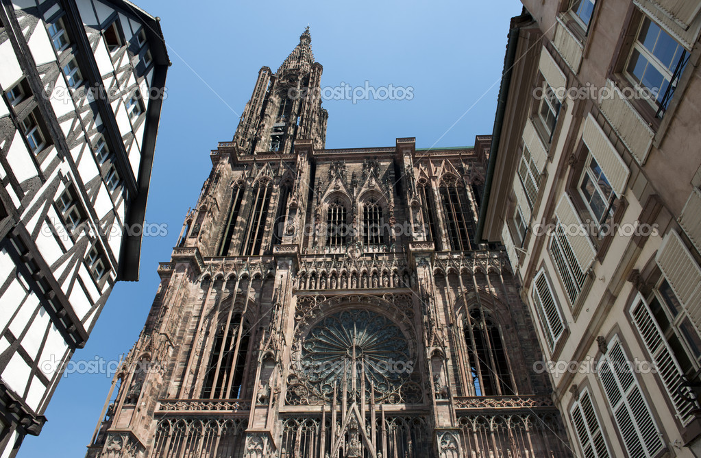 Cathedral of Strasbourg, France — Stock Photo #6049210