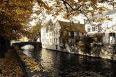 Eski şehirde sonbahar — Stok fotoğraf