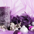 Christmas candle -  
