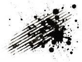 Ink blobs — Stock Photo