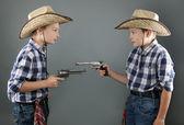 Cowboys — Stockfoto
