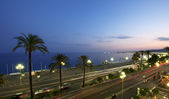 Promenade des Anglais — Stock Photo