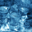 Glass with vodka — Stock Photo