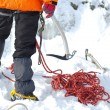 Equipment for ice climbing — Stock Photo #6089991