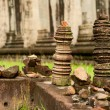 Ruins of temples, Angkor Wat, Cambodia — Stock Photo #6425518