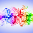Royalty-Free Stock Photo: Abstract colorful smoke