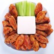 Buffalo chicken wings — Stock Photo #6038533