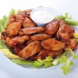 Buffalo chicken wings — Stock Photo #6038556