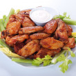 Buffalo chicken wings - Stock Photo