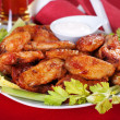 Buffalo chicken wings — Stock Photo #6038589
