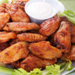 Buffalo chicken wings — Stock Photo #6038707