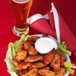 Buffalo chicken wings — Stok fotoğraf