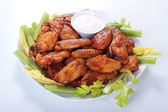 Buffalo chicken wings — Stockfoto