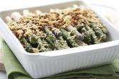 Asparagus gratin — Stock Photo