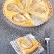 Stock Photo: Pear tart