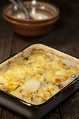 Potato gratin dauphinoise — Stock Photo