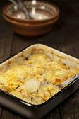Potato gratin dauphinoise — Stock Photo
