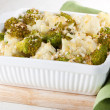 Broccoli and cauliflower gratin — Stock Photo