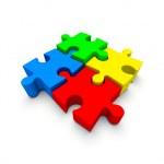 Color puzzle — Stock Photo #6221924