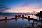 Dawn at Coogee - Sydney Beach — Stock Photo