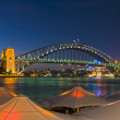 Circular Quay - Sydney Harbour Bridge — Stock Photo
