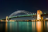 Sydney Harbour Bridge By Night — Stock Photo