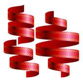 Ribbons blank design template — Stock Vector