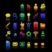 Minimal iconset — Stock Vector